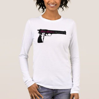 Camiseta larga de las señoras de la manga de GG2G