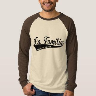 Camiseta larga del béisbol de la manga de la firma