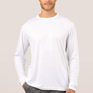 Camiseta larga DIY de la manga del Deporte-Tek de
