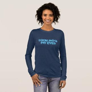 Camiseta larga feminista de la manga de las