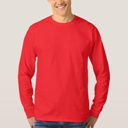 Camiseta larga nana básica de la manga de Hanes de