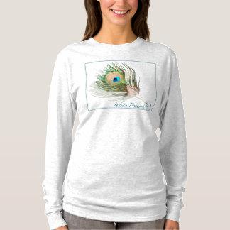 Camiseta larga nana de la manga de Hanes de 0101