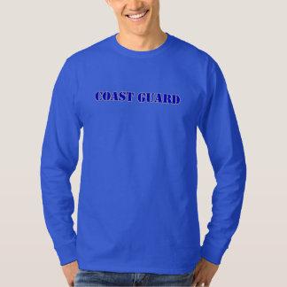Camiseta larga nana de la manga de USCG Hanes