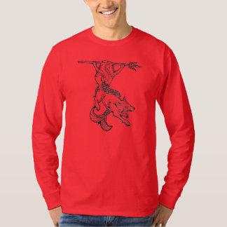Camiseta larga para hombre S-3X de la manga