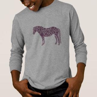 Camiseta Largo-Envuelta del potro de los niños