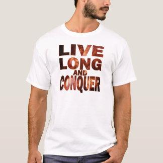 Camiseta Largos vivos y conquistan