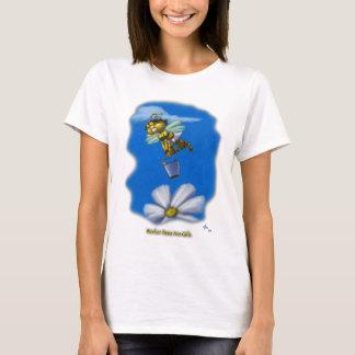 Camiseta Las abejas de trabajador son chicas
