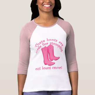 Camiseta Las botas se hacen para pisar fuerte hacia fuera
