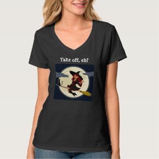 Camiseta ¿Las brujas canadienses - saque, eh?