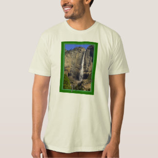 Camiseta Las cataratas de Yosemite enmarcaron