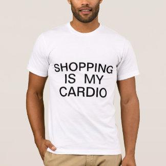 Camiseta Las compras son mi cardiias