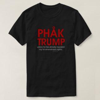 Camiseta Las derechas de 1ra enmienda del triunfo de Phak