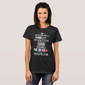 Camiseta Las enfermeras son expertos