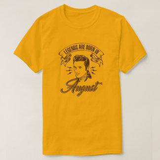 Camiseta Las leyendas nacen en agosto