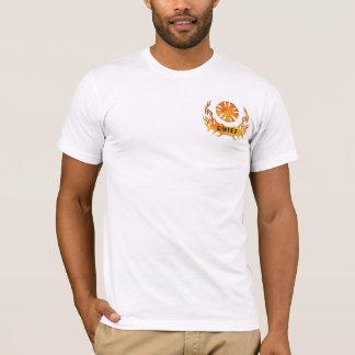 Camiseta Las llamas de un jefe