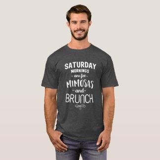 Camiseta Las mañanas de sábado están para los Mimosas y el