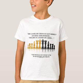 Camiseta Las moralejas de Benjamin Franklin de la vida del