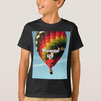 Camiseta Las mujeres vuelan: globo del aire caliente