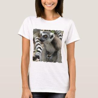 Camiseta Las señoras del mono del Lemur cupieron la