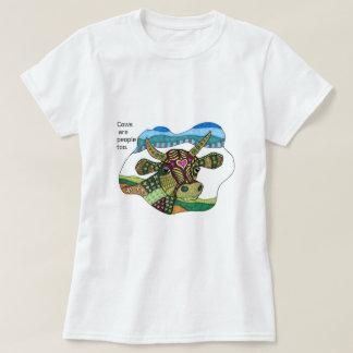 Camiseta ¡Las vacas son gente también!
