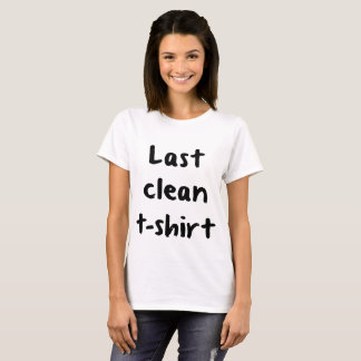 Camiseta Last Clean T-shirt