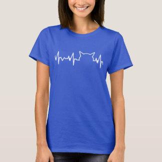 Camiseta Latido del corazón del gato
