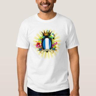 Camiseta latina de la música de Guatemala onza