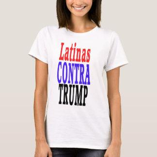 Camiseta LATINAS contra el triunfo, Latinas contra el