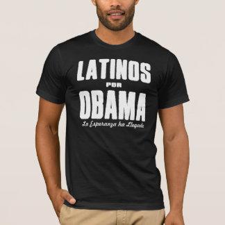 Camiseta Latinos Por Obama 2