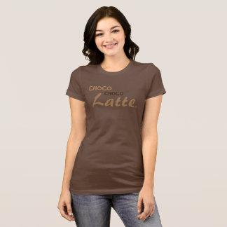 Camiseta latte del choco del choco