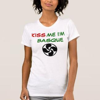 Camiseta lauburu,        YO soy VASCO, BESO