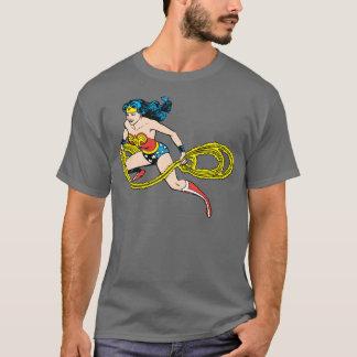 Camiseta Lazo de balanceo de la Mujer Maravilla dejado