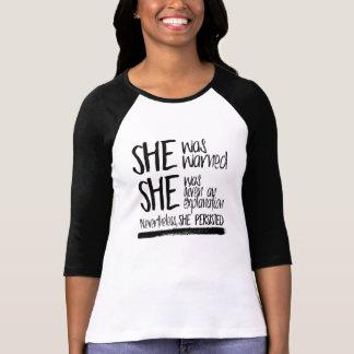 Camiseta Le advirtieron --