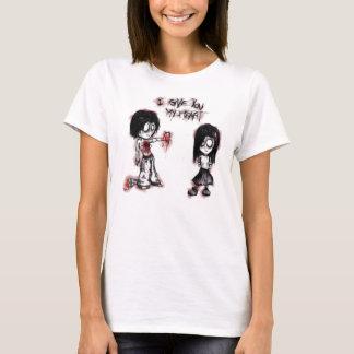Camiseta Le doy mi corazón