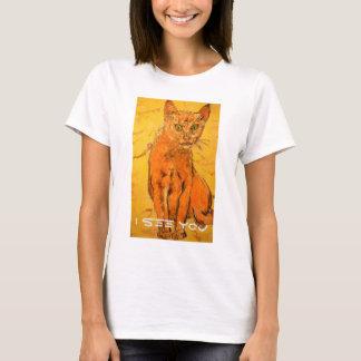 Camiseta le veo gato