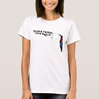 Camiseta Lea más Vonnegut 2,0