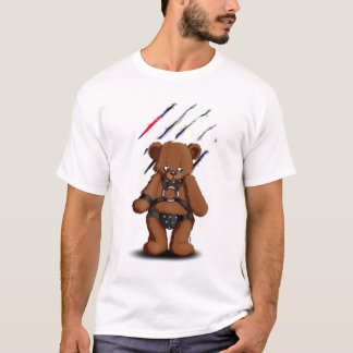 Camiseta Leather Gay bear