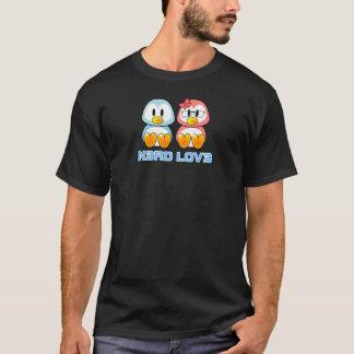 Camiseta Leet habla a la tarjeta del día de San Valentín