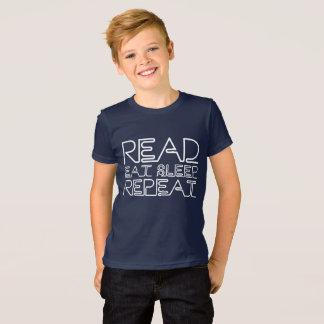 Camiseta Leído, coma, duerma, repita
