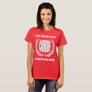 "Camiseta Lema plano ""estancia de la tierra delante de la"