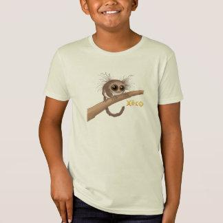 Camiseta Lemur enano Melenudo-Espigado de Xeko
