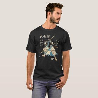 Camiseta Lengua japonesa de las virtudes del samurai ocho