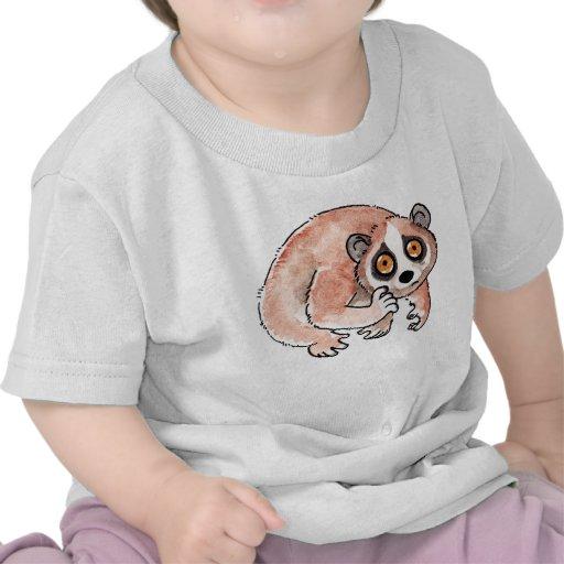 Camiseta lenta del niño de Loris