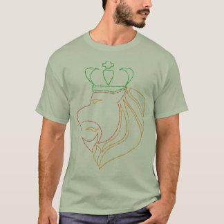 Camiseta León coronado reggae de Rasta