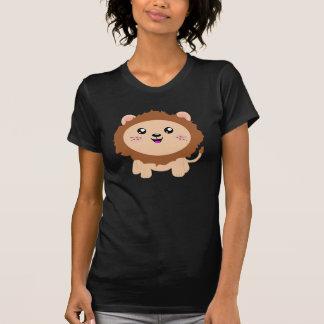 Camiseta León lindo del dibujo animado
