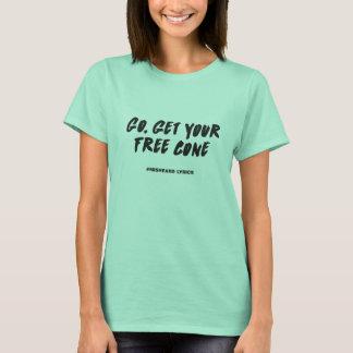 Camiseta Letras misheard tipográficas divertidas de la