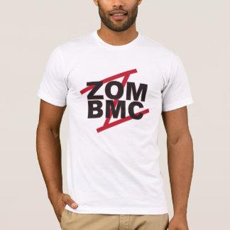 Camiseta Letras negras de ZOM BMC en Z rojo