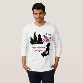 Camiseta Lets hace que América patina otra vez