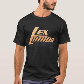 Camiseta Lex Luther - dos líneas