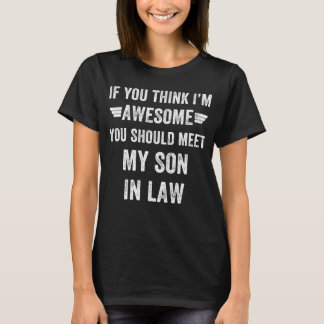 Camiseta ley impresionante del hijo